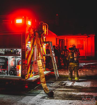 Roseville MI, House Fire 2-14-2021