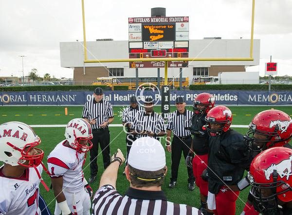2012-12-08 Football Varisty Lamar v North Shore @ Pasadena