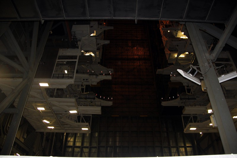 High bay used to stack the Space Shuttle in the Vehicle Assembly Building