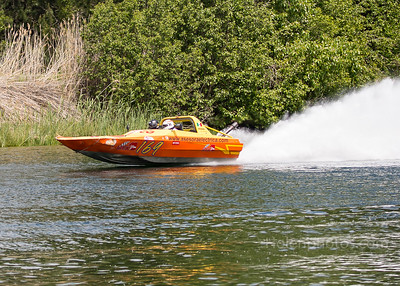 Jet Boats on Coeur D Alene River