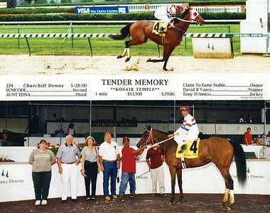 TENDER MEMORY - 5/28/2000