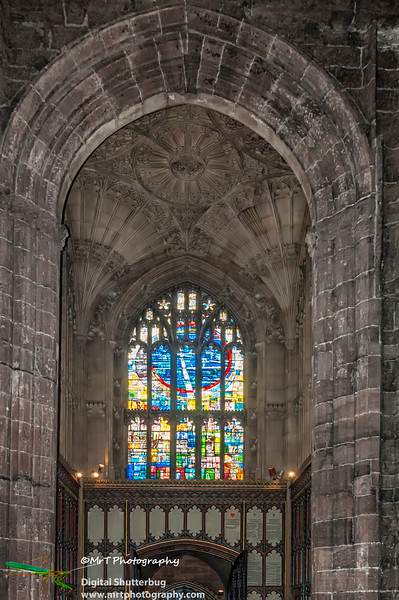 Transept Manchester Cathedral Manchester UK