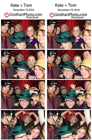 Kate and Tom's Photo Booth