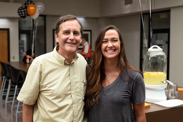 Surprise Farewell Reception for Dr. Roche 6-2019