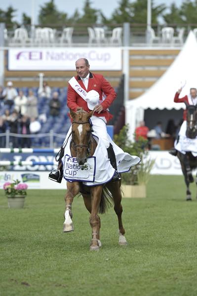 JUMPING : Philippe ROZIER - Randgraaf COUPE DES NATIONS 2012 -  CSIO DE LA BAULE 2012 - PHOTO : © CHRISTOPHE BRICOT