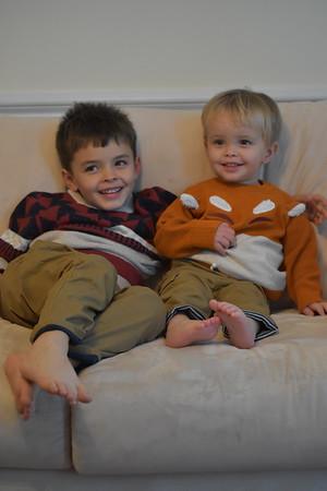 Aiden & William