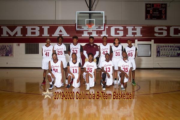 2019-2020 B Team Boys Basketball