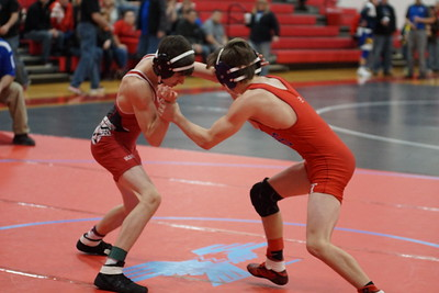 BHS Wrestling - Sectionals - Day 2