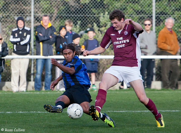 Miramar Rangers 5 vs. DunedinTech 1 - 2012