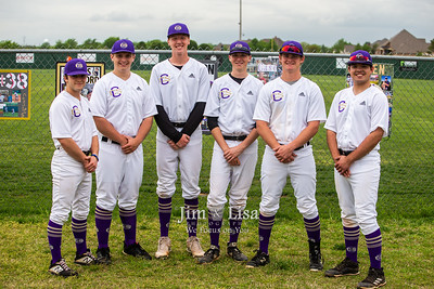 Baseball Senior Night, April 22