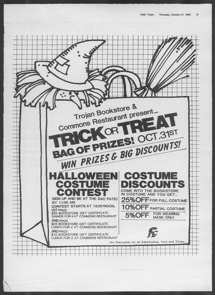 Daily Trojan, Vol. 94, No. 38, October 27, 1983