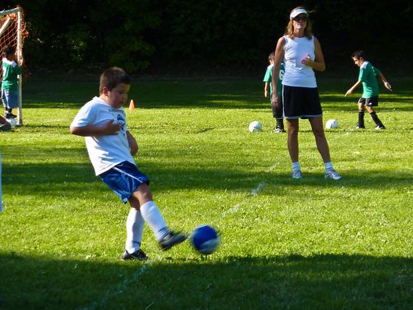 Andrew's Soccer Game - 9/12/09