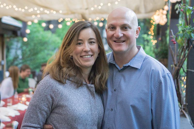 Julie & Seth's Prenuptial  Dinner May 11, 2018