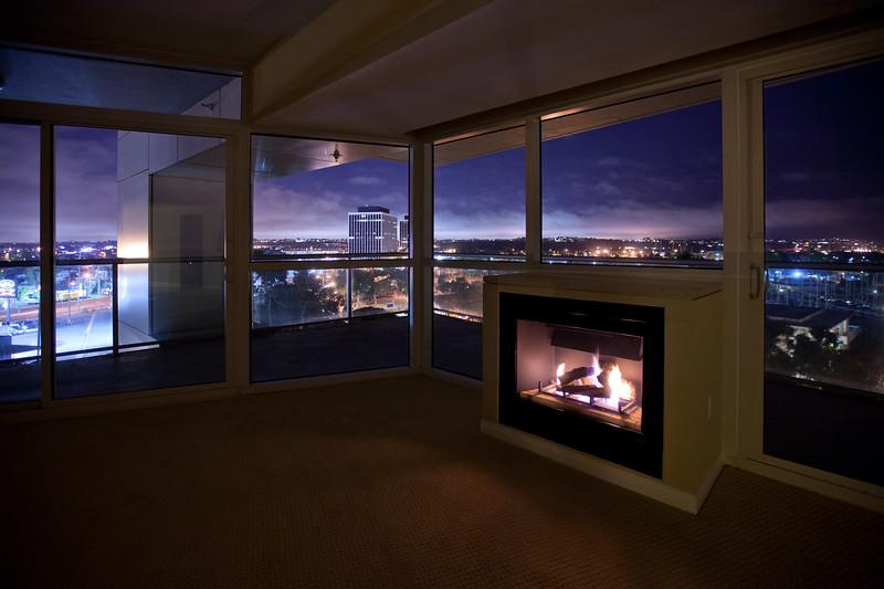 Real Estate MLS Shot, Regatta Condos Night Interior