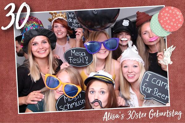 Alisa's 30ster Geburtstag, 15.06.2018
