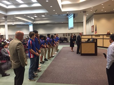 GCPS Board Meeting Recognition