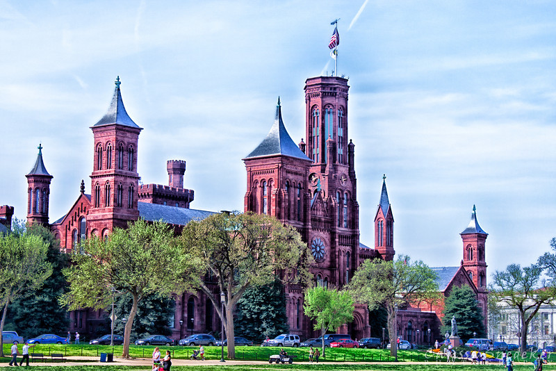 Smithsonian Castle - Extreme Detail
