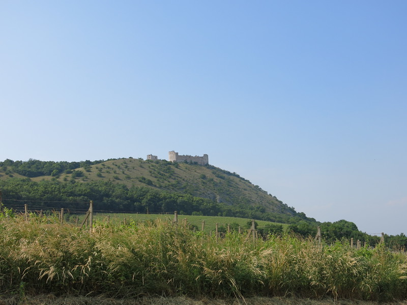 Castle in Palava National Park