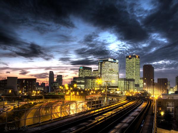 Blackwall DLR Station