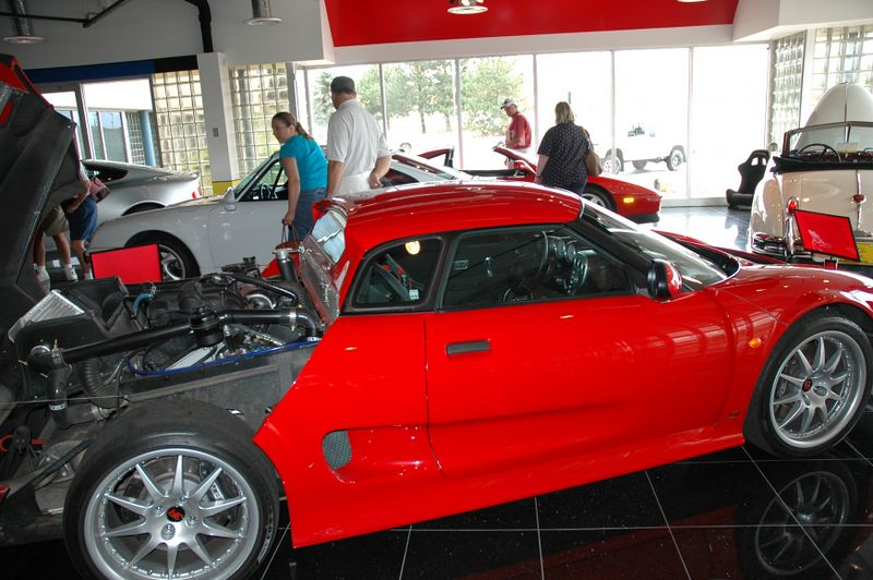 Side view of the Noble M12