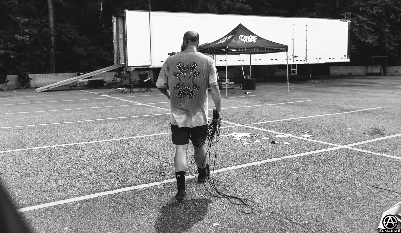 Joel Quartuccio of Being As An Ocean live at Vans Warped Tour 2015 by Adam Elmakias