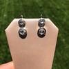 .85ctw Antique Table Cut Diamond Double Drop Earrings 8