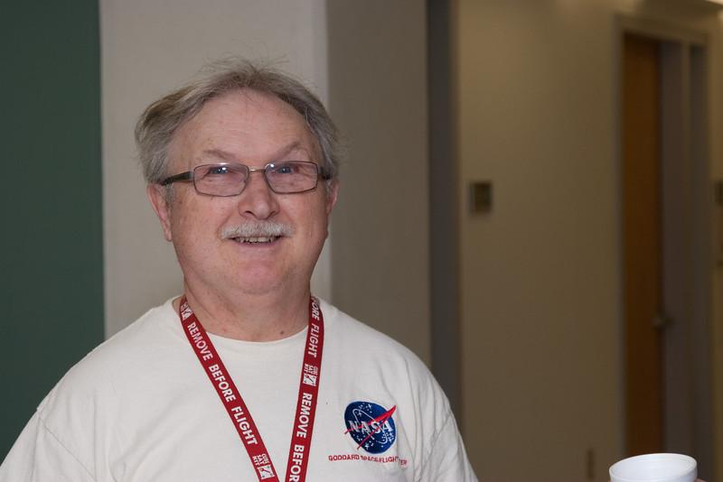 Wayne Geisbert -- March 2011 new staff welcome coffee, Astrophysics Science Division, NASA/ Goddard Space Flight Center