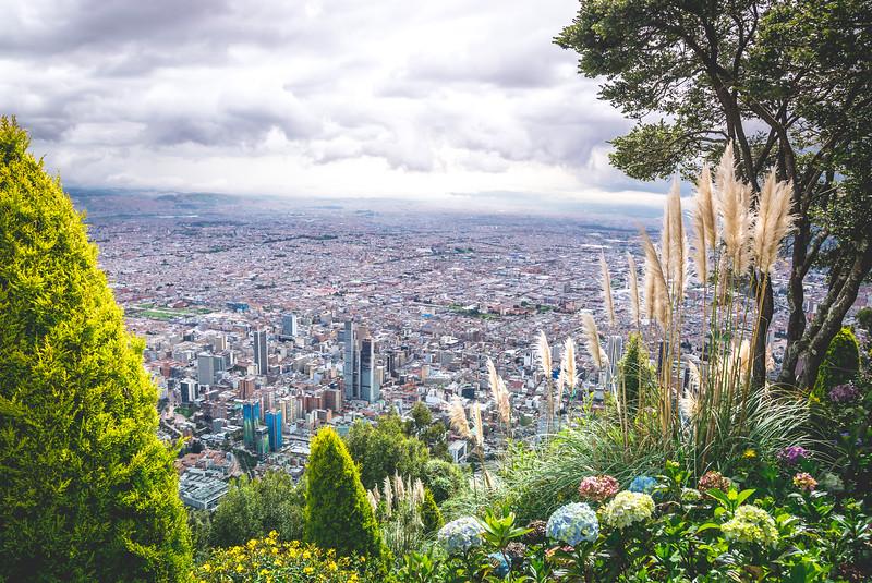 BOGOTA, COLOMBIA - Monserrate Mountain (Cerro Monserrate)