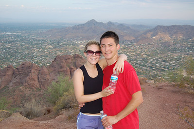 2006, July in AZ with David and Caitlin