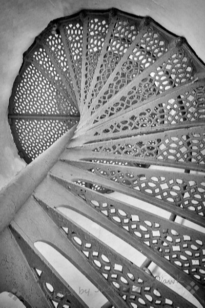 Up the Spiral Staircase