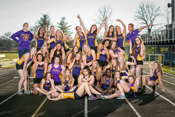 2019 Girls Track and Field Team