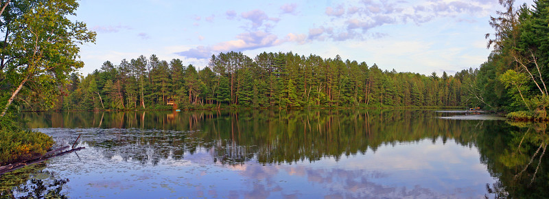 Shoreline of Property | Horseshoe Lake, Upper Michigan