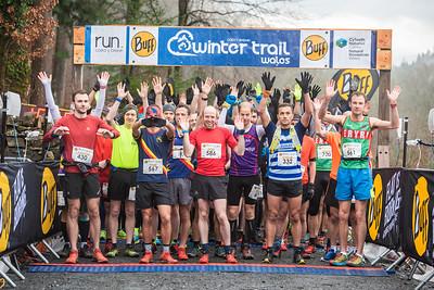 Winter Trail Marathon Wales - Start Pictures