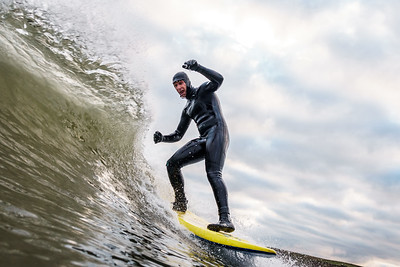 27/11/20: Surfing - Cayton Bay - Pumphouse