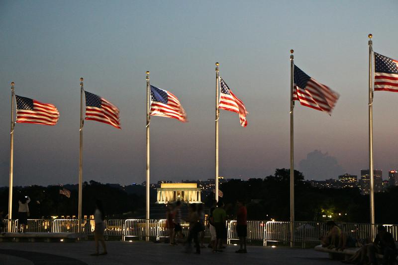 Washington Monument Sunset  639