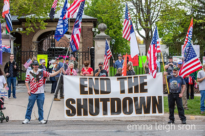 Liberate Minnesota Rally at Governor Walz's Residence, May 14