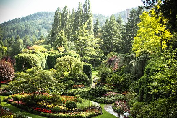 The Butchart Gardens 2013