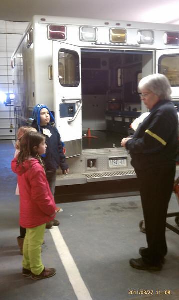 Visiting the Ambulance Mar 2011