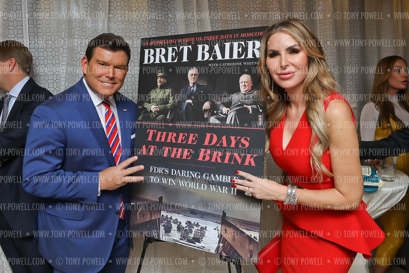 """Bret Baier """"Three Days at the Brink"""" Book Party"""