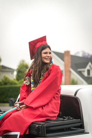 2020 Los Alamitos High School Grad Parade
