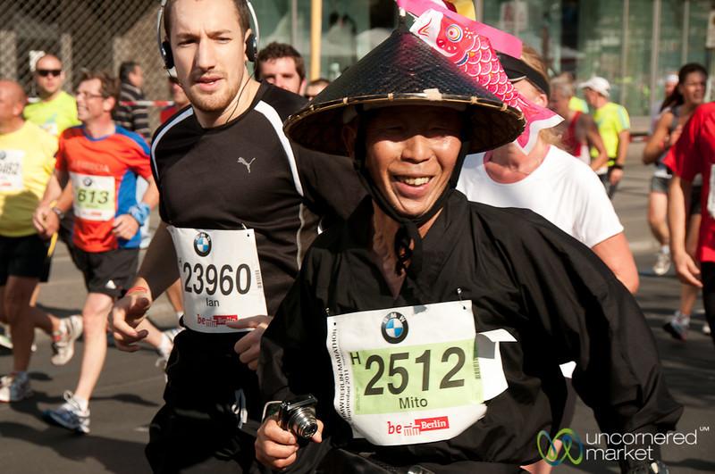 Berlin Marathon - All Dressed Up
