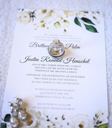 Brittney + Justin Henschel   |   WEDDING