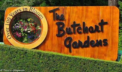 The Butchart Gardens, British Columbia