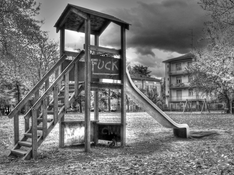 Playground - Reggio Emilia, Italy - October 30, 2008