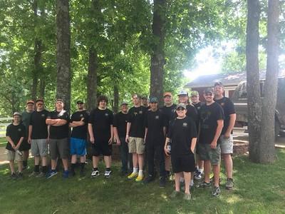 2018 Rafter F Hog Camp