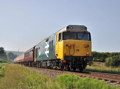 East Lancashire Railway Diesel Gala. 07/07/13.