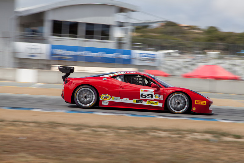 Michael Macs in the #69 Ferrari 458 EVO. © 2014 Victor Varela