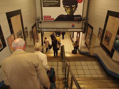 London Underground, Subway.