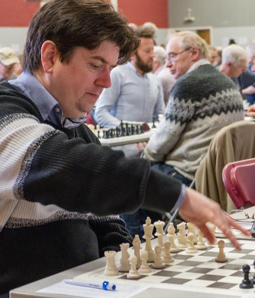 Richard Bates, open section winner