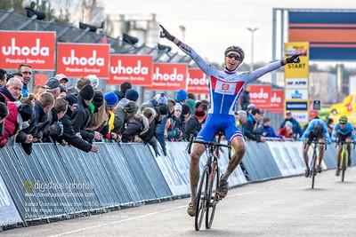 UCI Zolder World Cup cyclocross Junior Race